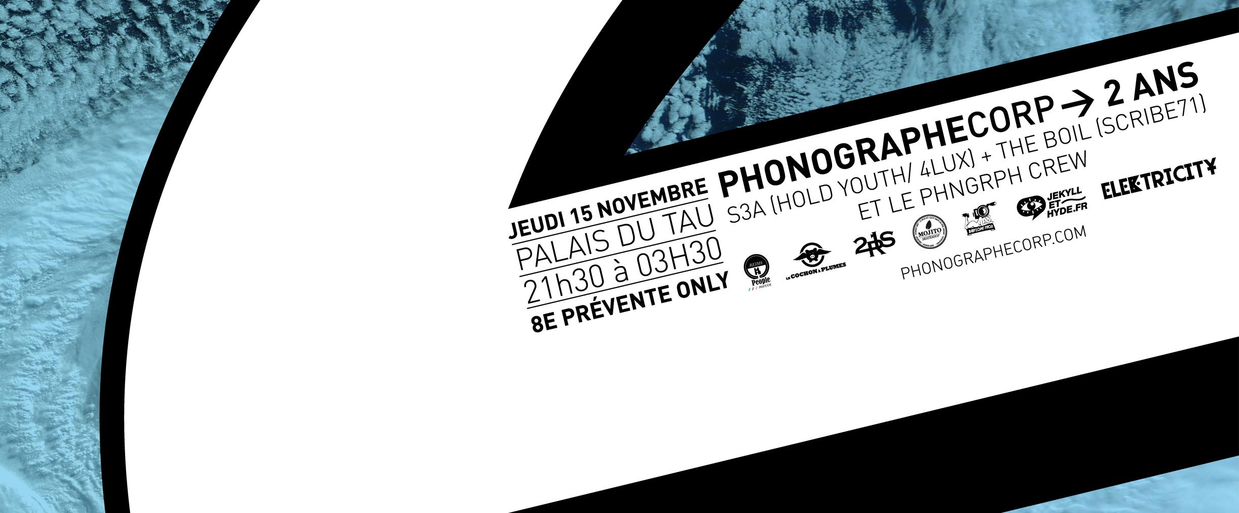 PHONOGRAPHE – 2 ANS