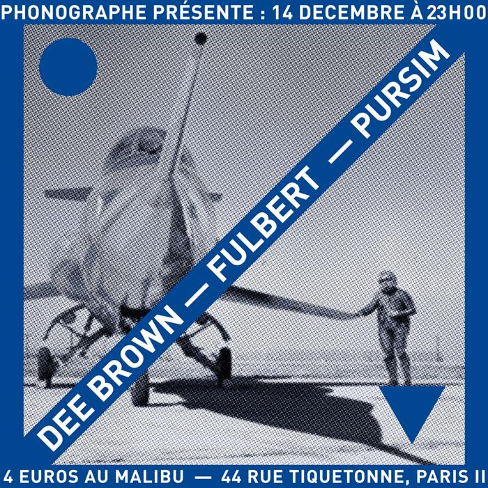 PHNGRPH présente : Fulbert & Dee Brown @Malibv (Paris)