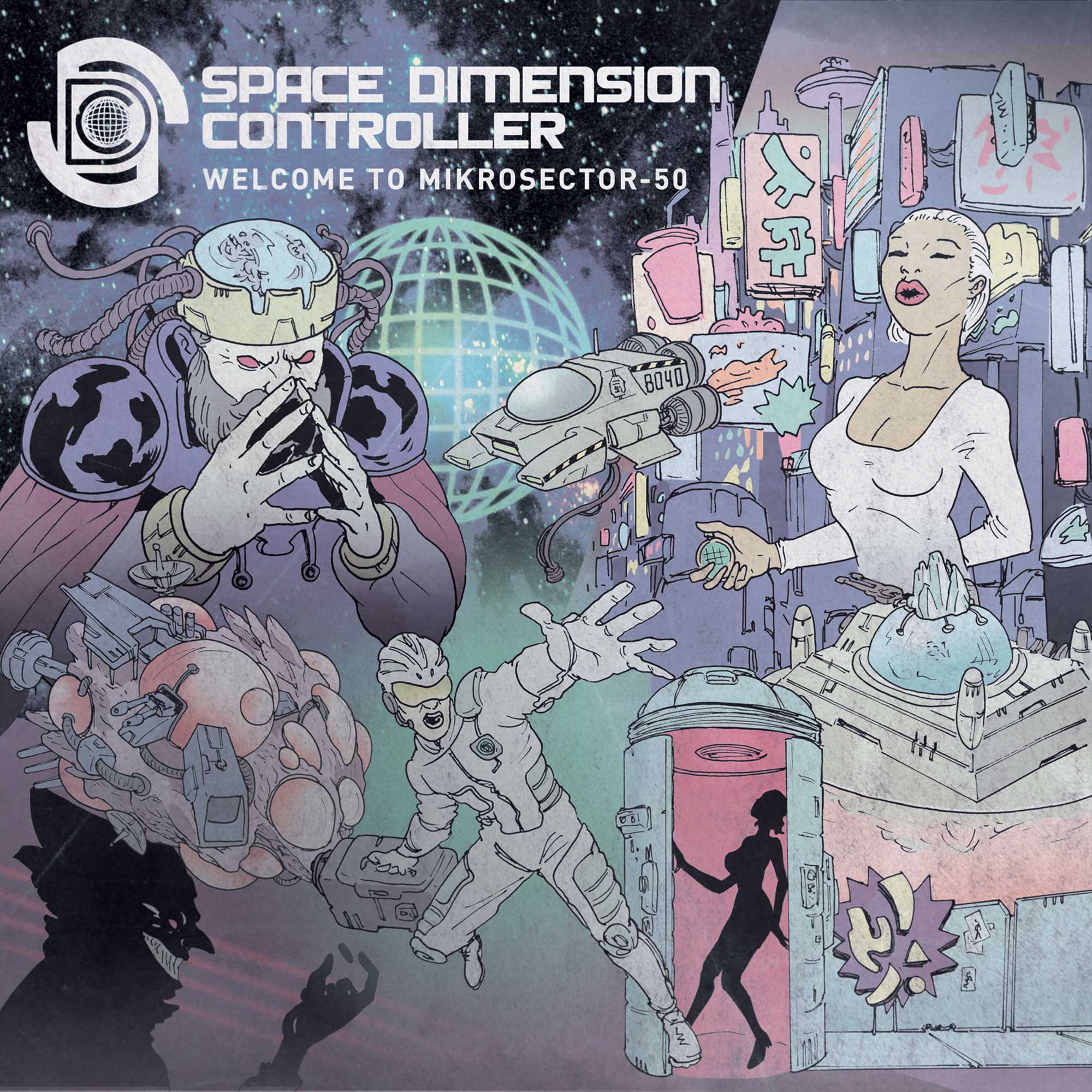 Space Dimension Controller – Welcome to Mikrosector-50