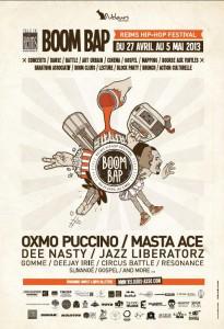 Boom Bap - Reims Hip Hop Festival