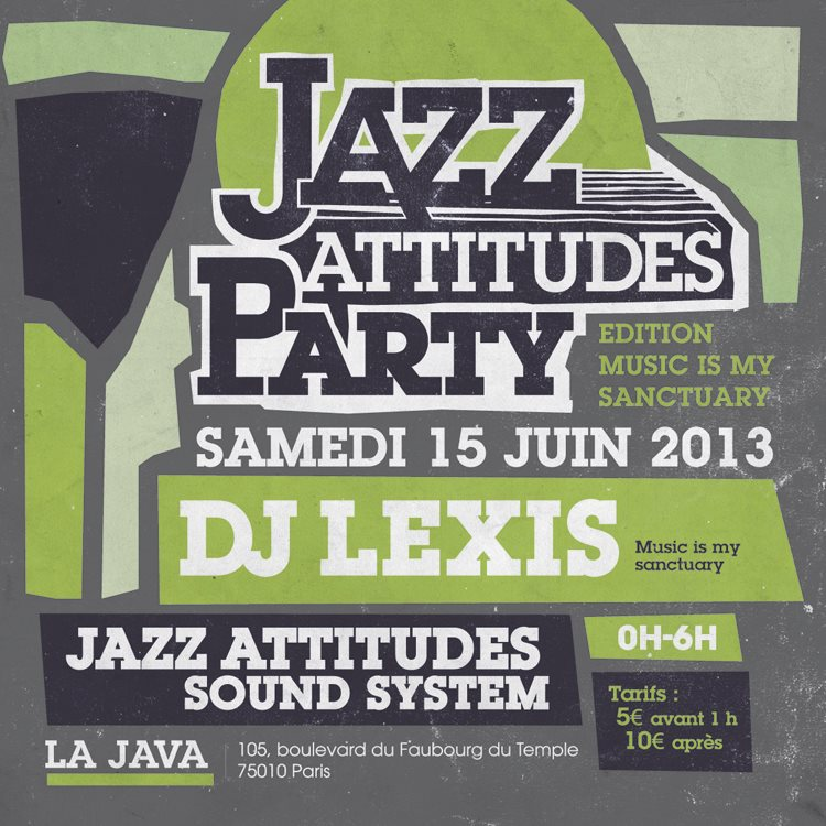Jazz Attitudes Party @ La Java w/ Lexis