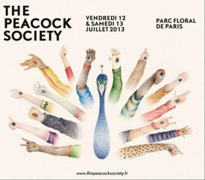 12 -13/07 – The Peacock Society : We Love Art & Savoir Faire.