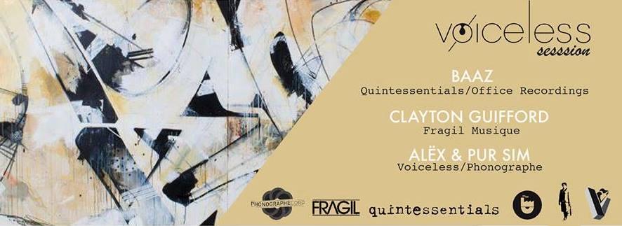 VØICELESS Session – Baaz · Clayton Guifford · Alëx b2b PurSim @ Insula