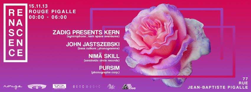 Pursim @  Renascence (Paris – Rouge)