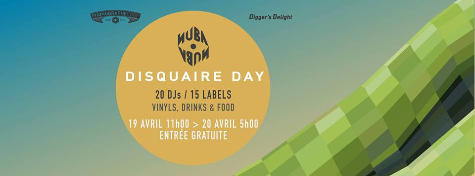 Phonographe Corp & Digger's Delight - Disquaire Day