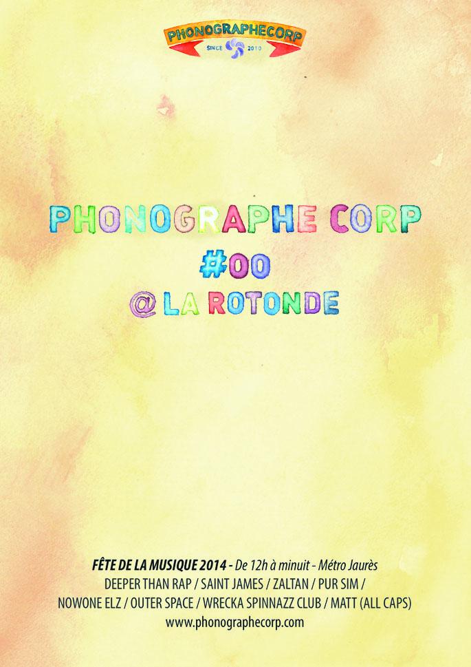 Phonographe Corp fête la musique