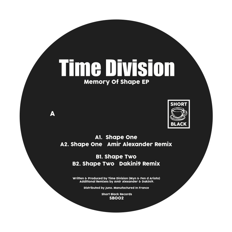 Time Division – Memory Of Shape EP