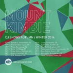 Mount Kimbie – DJ mix for October 2014