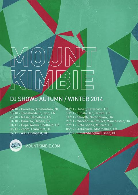 Mount Kimbie – DJ mix for October 2014
