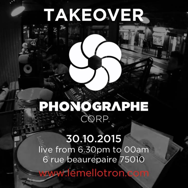 Phonographe Corp Takeover sur Le Mellotron