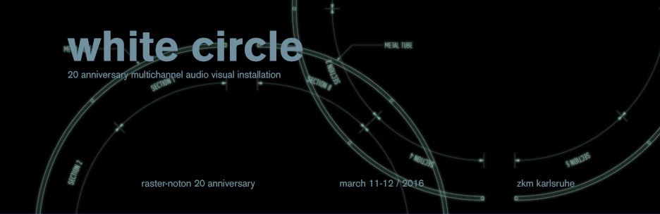 White Circle Flyer