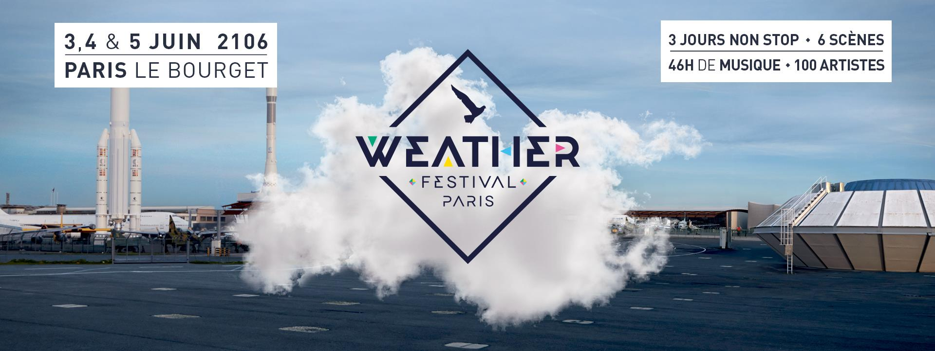 Weather Paris Festival 2016 – De la pelouse au tarmac…