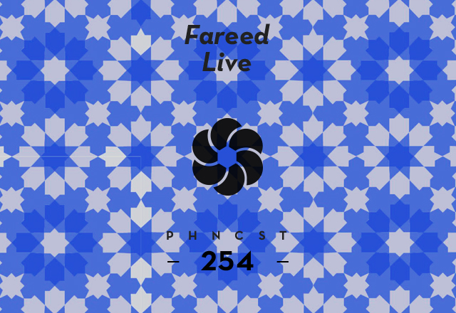 PHNCST254 – Fareed Live (Construct Re-Form)