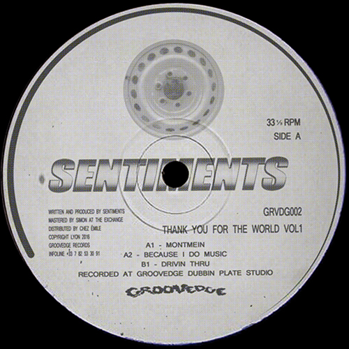Sentiments – Thank You For The World vol.1