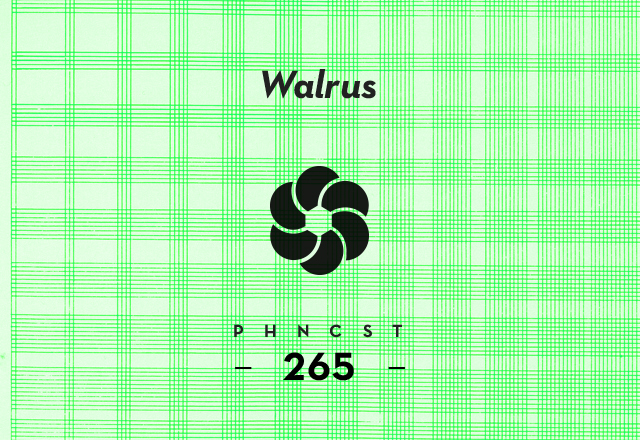 PHNCST265 – Walrus