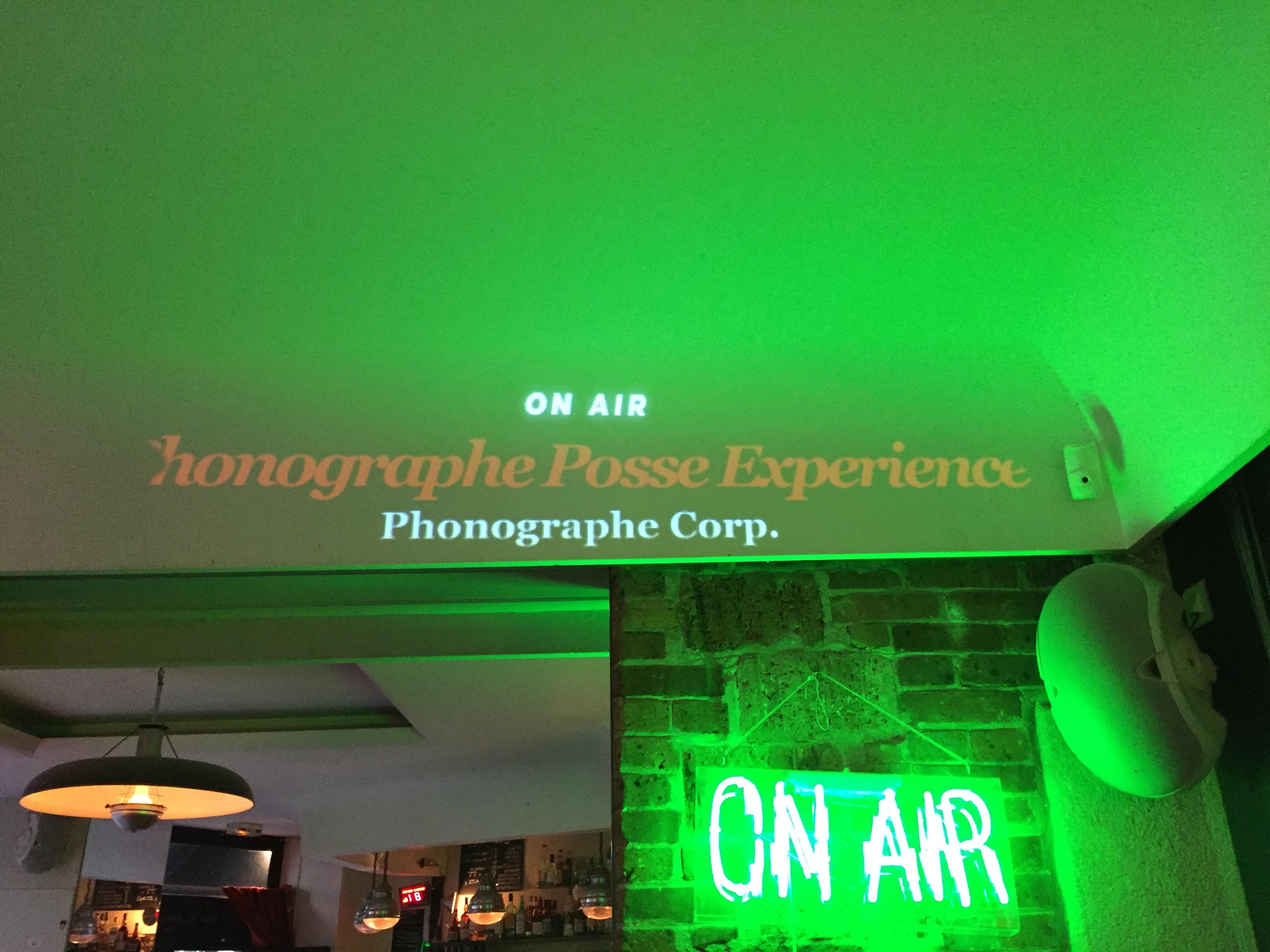 Phonographe Posse Experience S02E01 (Le Mellotron)