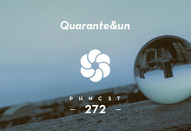 PHNCST272 – Quarante&un