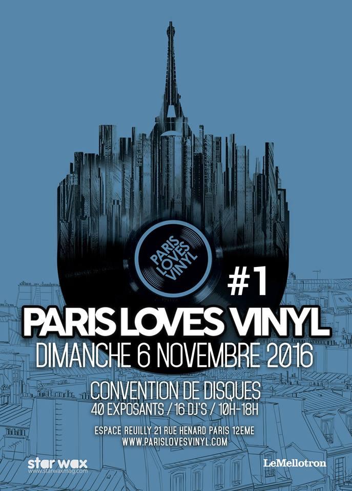 Paris Loves Vinyl, la nouvelle convention de disques à ne pas rater ce week-end !