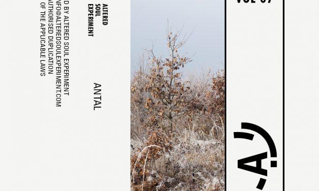 Antal à l'affiche de la dernière cassette d'Altered Soul Experiment