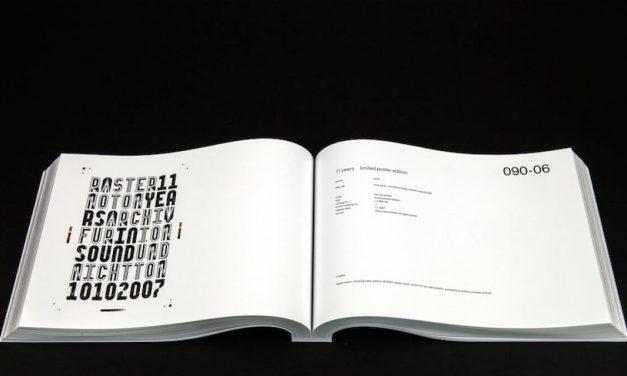 Raster-Noton sort un livre et une compilation retraçant 20 ans de carrière