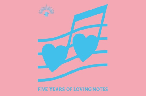Antinote annonce une compilation, « Five Years Of Loving Notes »