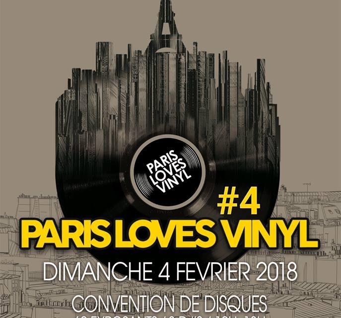 Ne manquez pas la prochaine convention Paris Loves Vinyl !