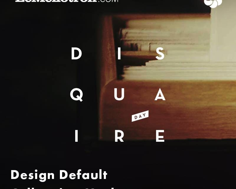 Le Mellotron – Collapsing Market & Design Default (Spéciale Disquaire Day 2018)