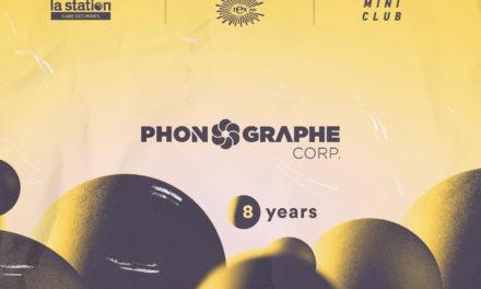 Phonographe Corp fête ses 8 ans en 3 soirées