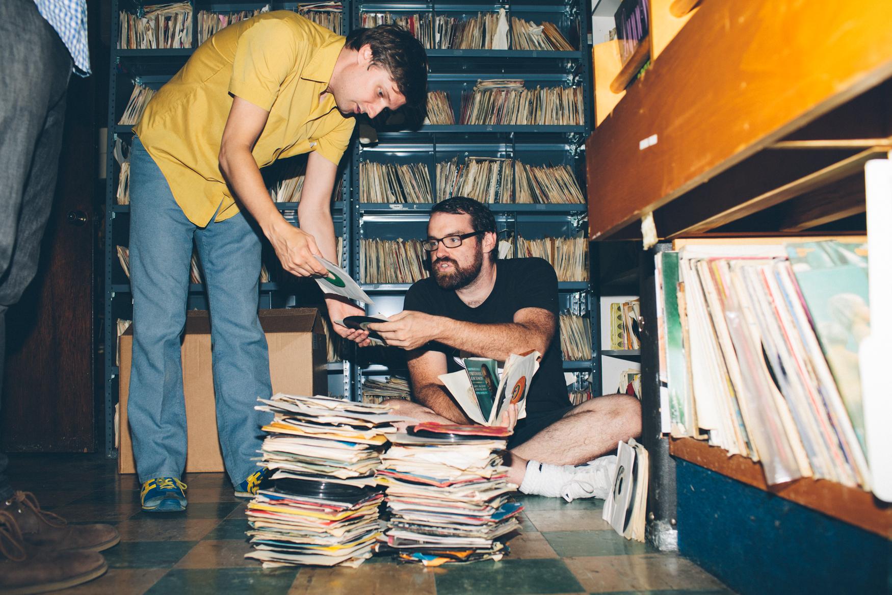 Les deux fondateurs de Numero Group. Photo © Spin Magazine