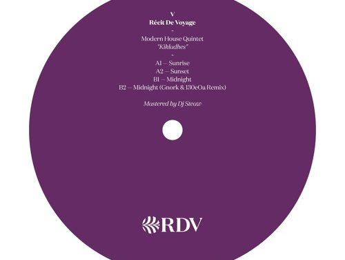 Modern House Quintet – Kikladhes EP (Récit de Voyage)