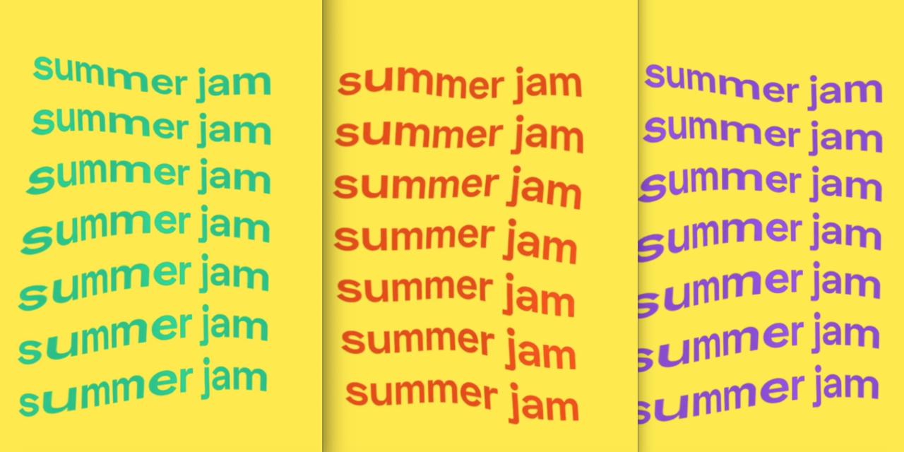 SUMMER JAM : notre série de l'été sur nos tubes préférés de l'été